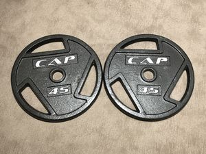 45-lb Olympic Weight Plates for Sale in Arlington, VA