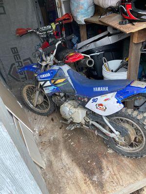 Blue Yamaha dirt bike for Sale in Ashland City, TN
