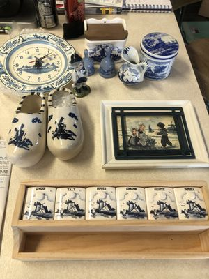 Holland Porcelain kitchen collectibles for Sale in Fullerton, CA