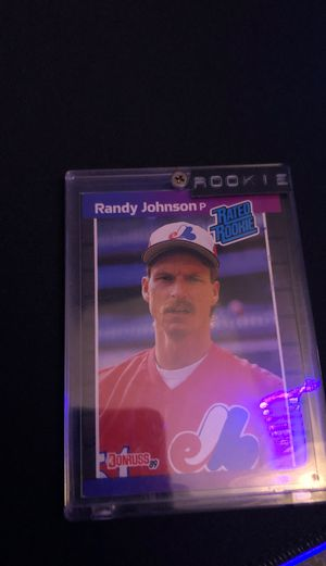 randy johnson rookie card for Sale in Fort Myers, FL