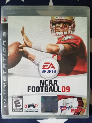 NCAA Football 09 (PS3) NEW IN PLASTIC for Sale in US