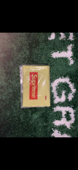 Light Yellow Supreme Small Box Tee (SS20) for Sale in Marysville, WA