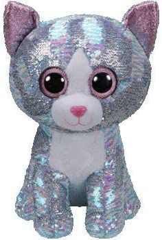 """Ty Flippables Beanie Boo Large 16"""" Whimsy the Blue Cat for Sale in Tustin, CA"""