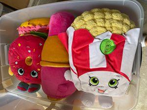 Shopkins Big plush pillows for Sale in Dallas, TX
