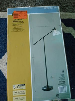 *New*Hampton Bay 54.5 in. Oil Rubbed Bronze Counter Balance Floor Lamp for Sale in Columbus, OH