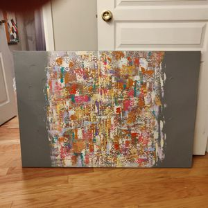 Large abstract canvas painting for Sale in Cleveland, OH