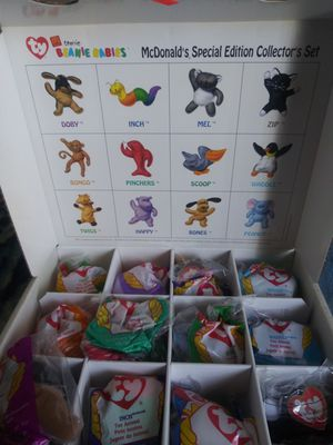 1998 Mcdonals beanie baby collection set for Sale in Irving, TX