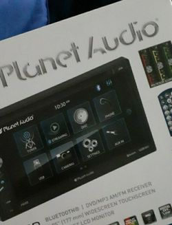 Planet Audio DVD / Touchscreen Double Din Tuner Radio W Remote for Sale in Kyle,  TX