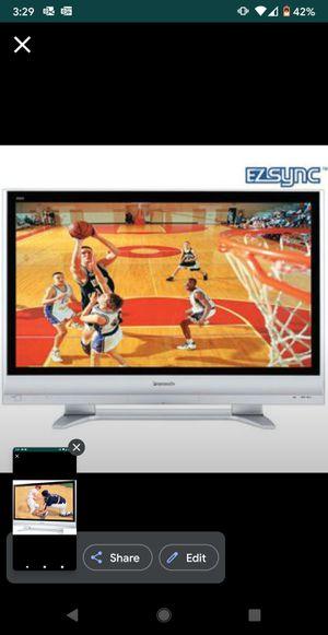 "Panasonic 50"" VIERA Plasma TV 4K 1080p 600Hz HDTV FullHD - LCD LED smart grey for Sale in Carlsbad, CA"