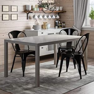 6 Sitter Dining table Gray , Brand New Still In Box for Sale in SeaTac, WA