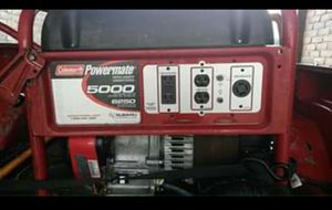 6250watt generator (Coleman ) $325.!!! for Sale in Pennington, NJ