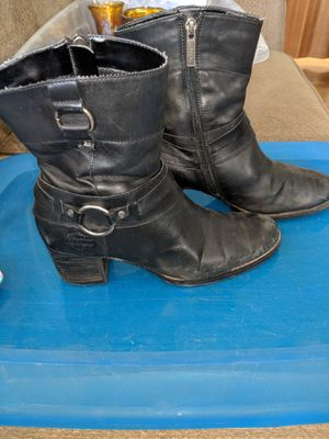 Harley Davidson size 6 1/2 boots for Sale in South Charleston, WV