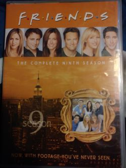 Friends season 9 box set w/extra footage for Sale in Dallas,  TX