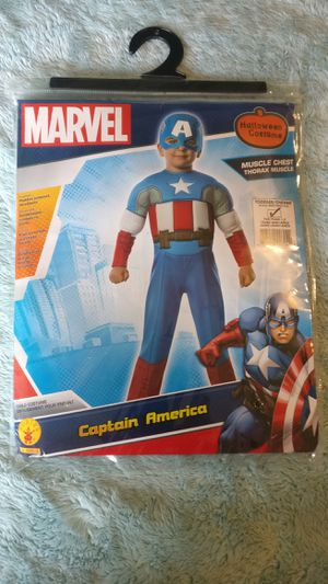 Halloween Toddler(3-5) Captain America Costume for Sale in Winchester, MA