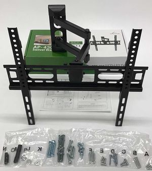 New in box 22 to 55 inches swivel full motion tv television wall mount bracket flat screen monitor 90 lbs capacity soporte de tv for Sale in La Mirada, CA