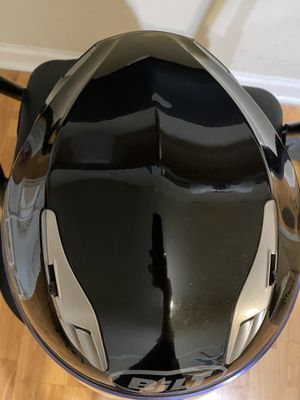 Bilt Raptor Drop Down Sun Shield Vented Air Flow DOT Sport Touring Street Bike Motorcycle Full Face Helmet - Matte Black LG; Size: small for Sale in Raleigh, NC