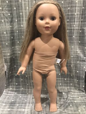 "American girl-like 18"" doll from Madame Alexander for Sale in Traverse City, MI"