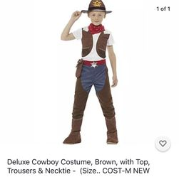 Two Piece Cowboy Costume. Size 10Y. for Sale in Houston,  TX