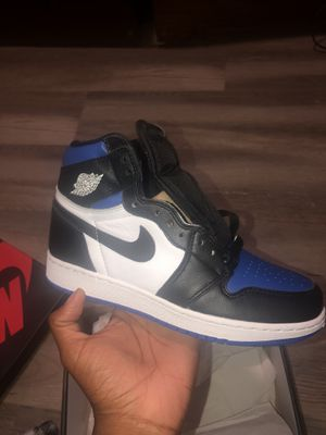 Jordan 1 royal toe for Sale in Hyattsville, MD