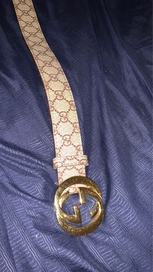 Gucci belt for sale for Sale in Rancho Cucamonga, CA