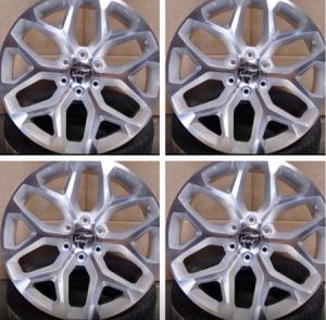 "GMC Chevrolet Replica Wheels Rims Black Machine - Gloss Black - Machine Silver Brand New Inventory 24"" Inch ...$ 1099 (Wheels Only) 26"" Inch ...$ for Sale in La Habra, CA"