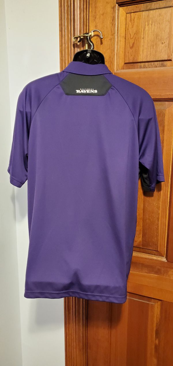 Ravens NFL Apparel Polo Shirt New With Tags