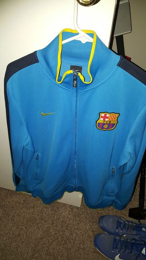 Nike Barcelona warm up jacket size Men's Large for Sale in Houston, TX