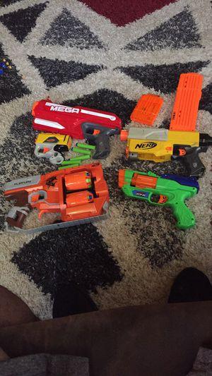 Nurf gun lot for Sale in Douglasville, GA