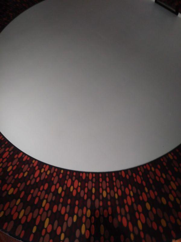 Round Multi-Colored Decorative Wall Mirror