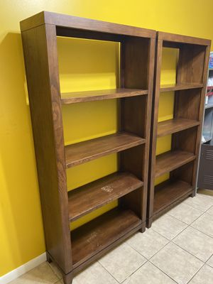 Solid Wood Bookshelves $50 each for Sale in Miami, FL