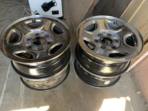 Set of four 15' tire rims for Sale in Pasco, WA