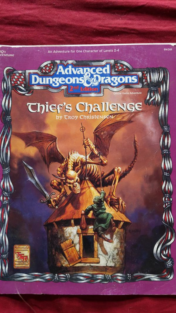 AD&D - Thief's Challenge - 1993