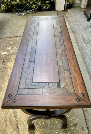Wooden Consol table for Sale in Melbourne Village, FL