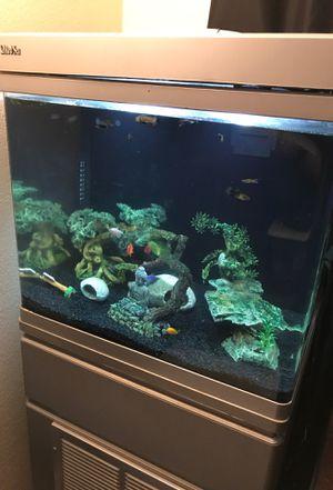 Red Sea salt water fish tank for Sale in Corona, CA