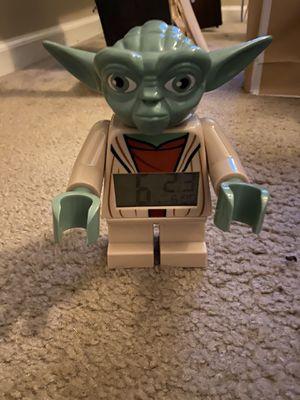 Lego Yoda alarm clock for Sale in Napa, CA