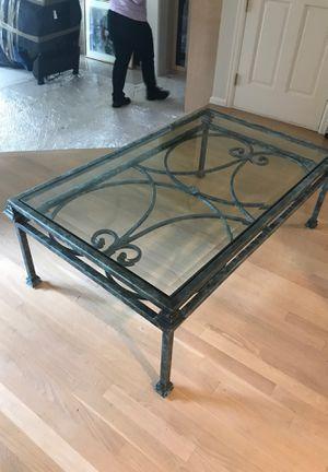 Ethan Allen Metal Coffee table for Sale in Bellevue, WA