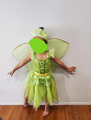 Tinkerbell Halloween Costume size 5 / 6 for Sale in Downey, CA