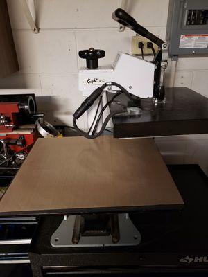 Geo Knight Digital 14x16 Combo heat press for Sale in New Port Richey, FL