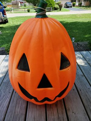 Lighted pumpkin for Sale in Pataskala, OH