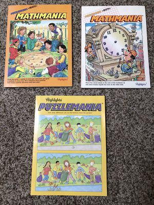 (3) Highlights puzzle mania activity books for Sale in Edgewood, WA