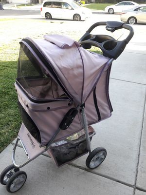 Pet stroller dog cat wheels for Sale in Tracy, CA