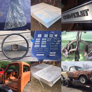 C10 c20 c30 Chevy Gmc truck parts for Sale in Modesto, CA