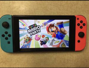 NINTENDO SWITCH with 55 GAMES MARIO KART, ANIMAL CROSSING, LUIGIS MANSION, ZELDA, POKEMON and More for Sale in San Diego, CA
