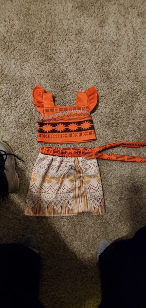Moana outfit for Sale in Lawrenceville, GA