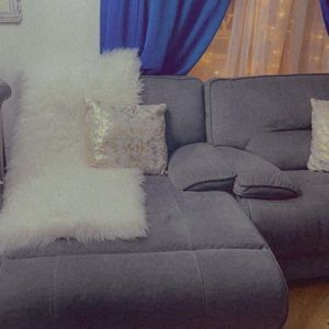 4 Piece Gray Recliner Sectional for Sale in Brooklyn, NY