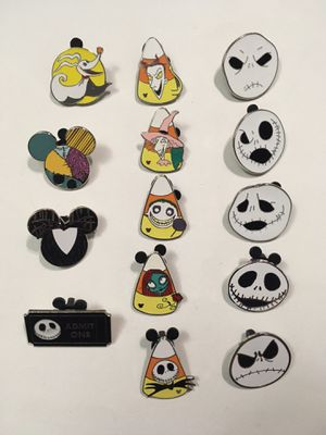NIGHTMARE BEFORE CHRISTMAS DISNEY PINS for Sale in Phoenix, AZ