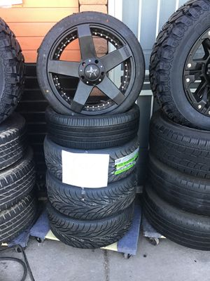 4x100 new rims and tires for Sale in Glendale, AZ