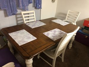 Dining table with four chairs set for Sale in Hyattsville, MD
