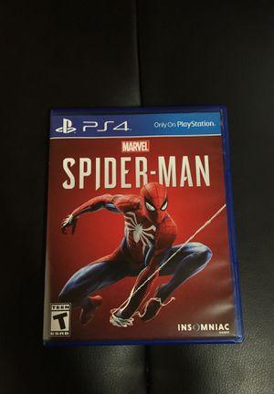 Spider-Man PS4 for Sale in Alexandria, VA