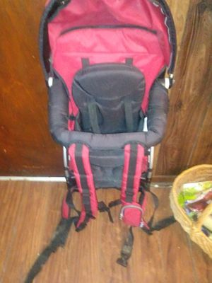 MOTHER'S CHICO COMBINATION BABY CARRYING BACKPACK/CAR-SEAT for Sale in Salem, AL